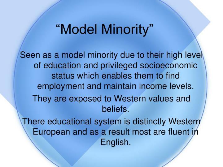 """""""Model Minority"""""""
