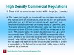 high density commercial regulations20