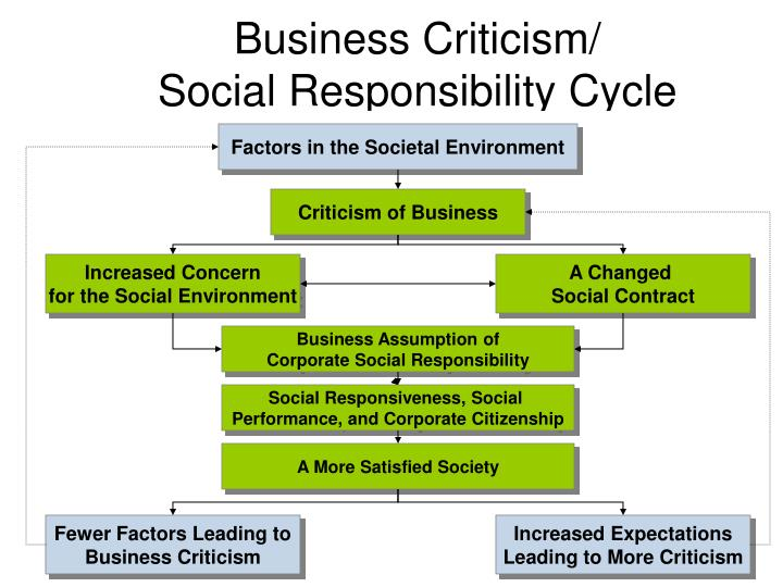 Factors in the Societal Environment
