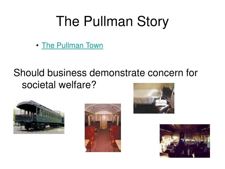 The Pullman Story