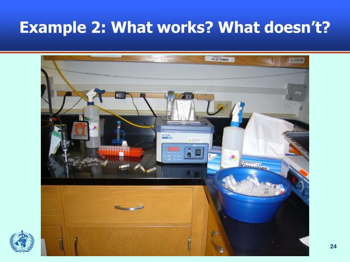 Example 2: What works? What doesn't?
