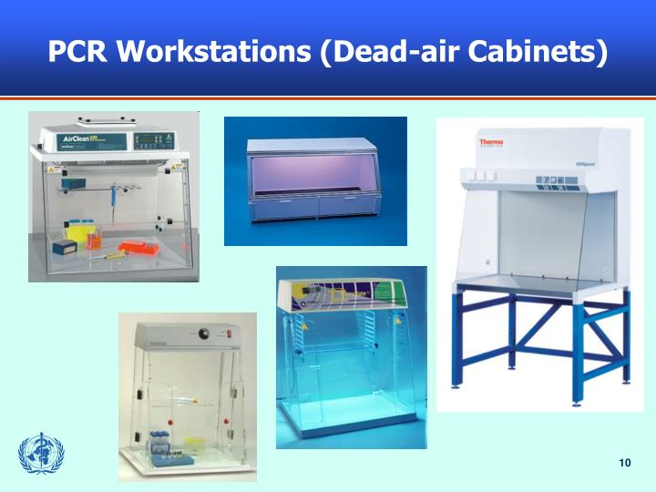 PCR Workstations (Dead-air Cabinets)