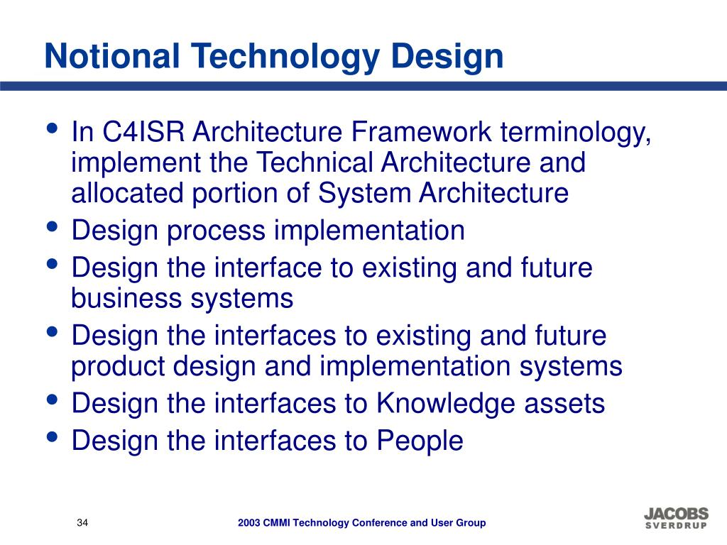 Notional Technology Design