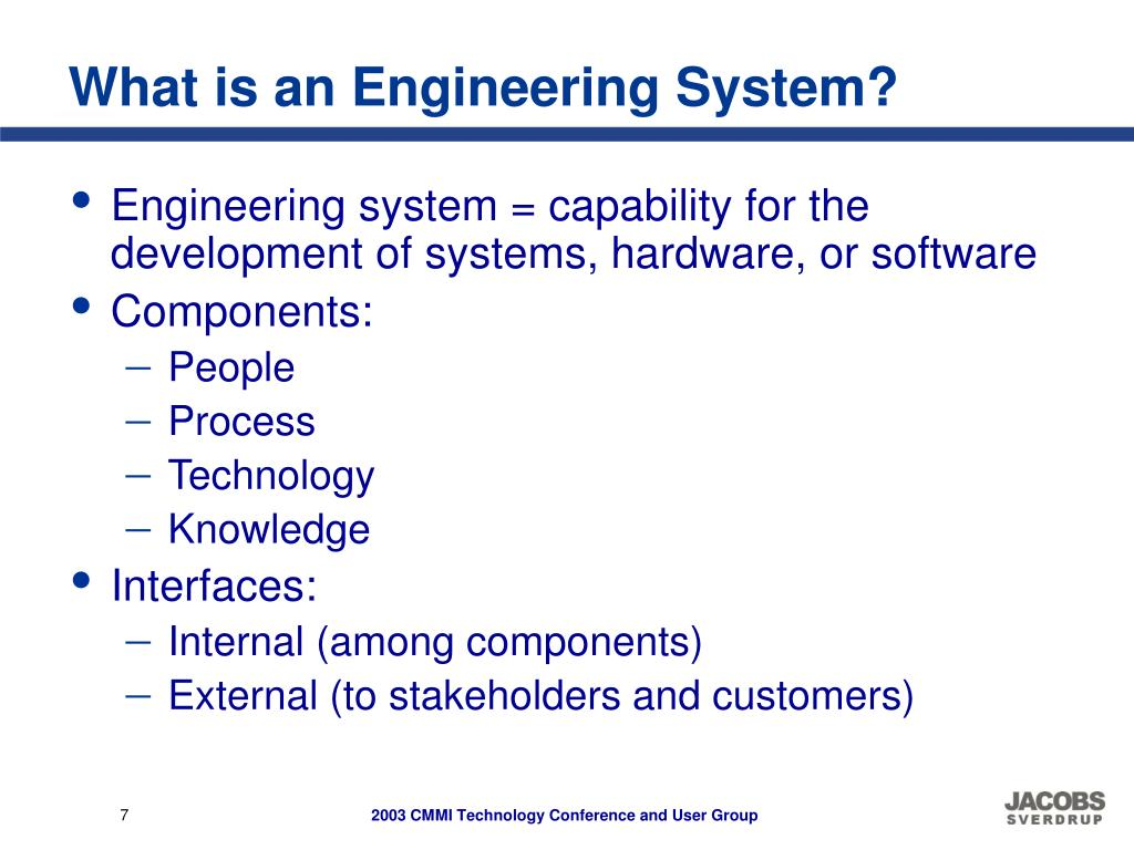 What is an Engineering System?