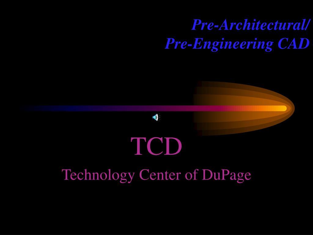 Pre-Architectural/