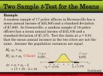 two sample t test for the means2