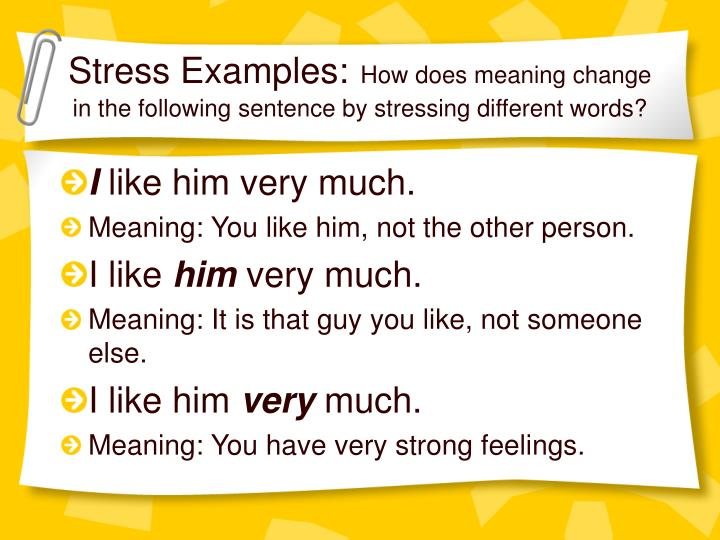 Stress Examples: