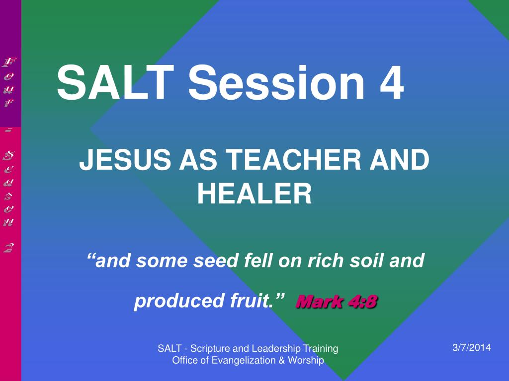 SALT Session 4