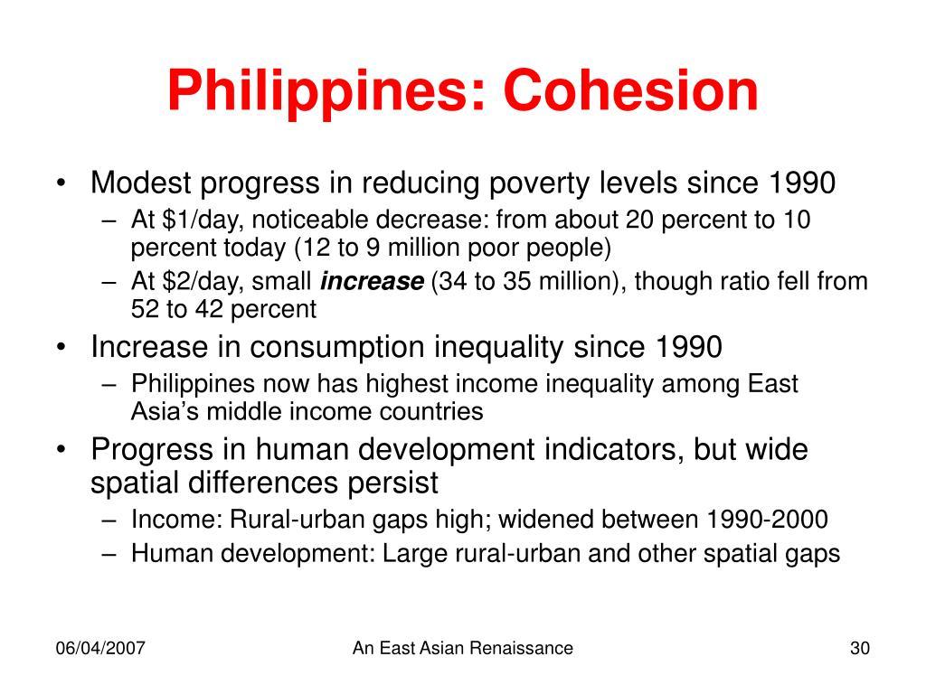 Philippines: Cohesion