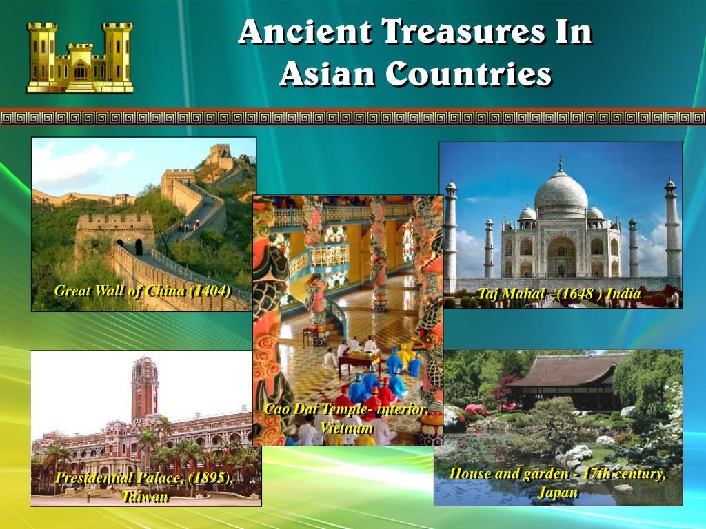 Taj Mahal –(1648 ) India