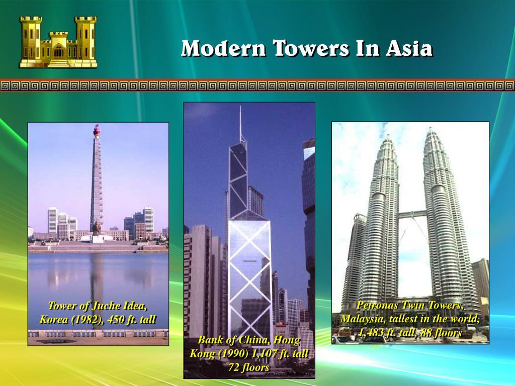 Tower of Juche Idea, Korea (1982), 450 ft. tall