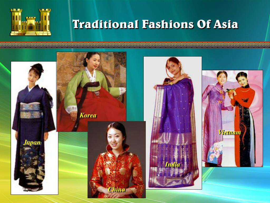 Traditional Fashions Of Asia