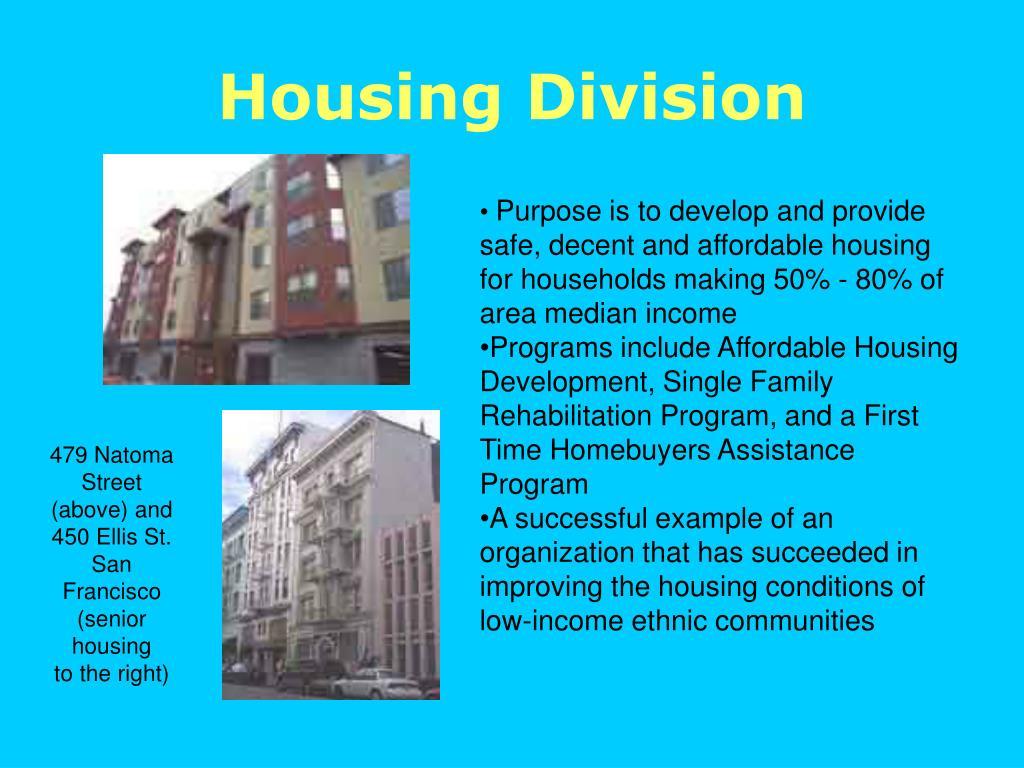 Housing Division