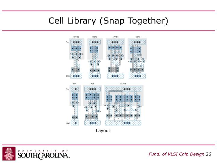 Cell Library (Snap Together)
