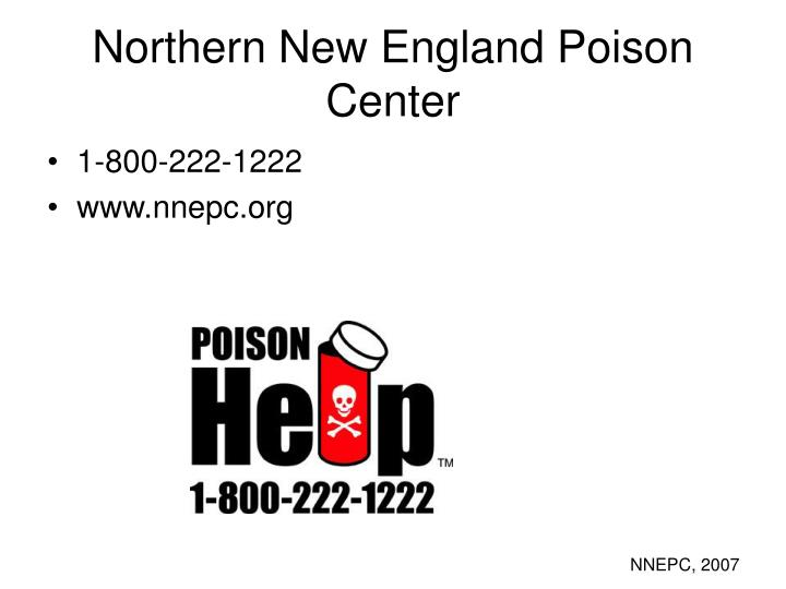 Northern New England Poison Center