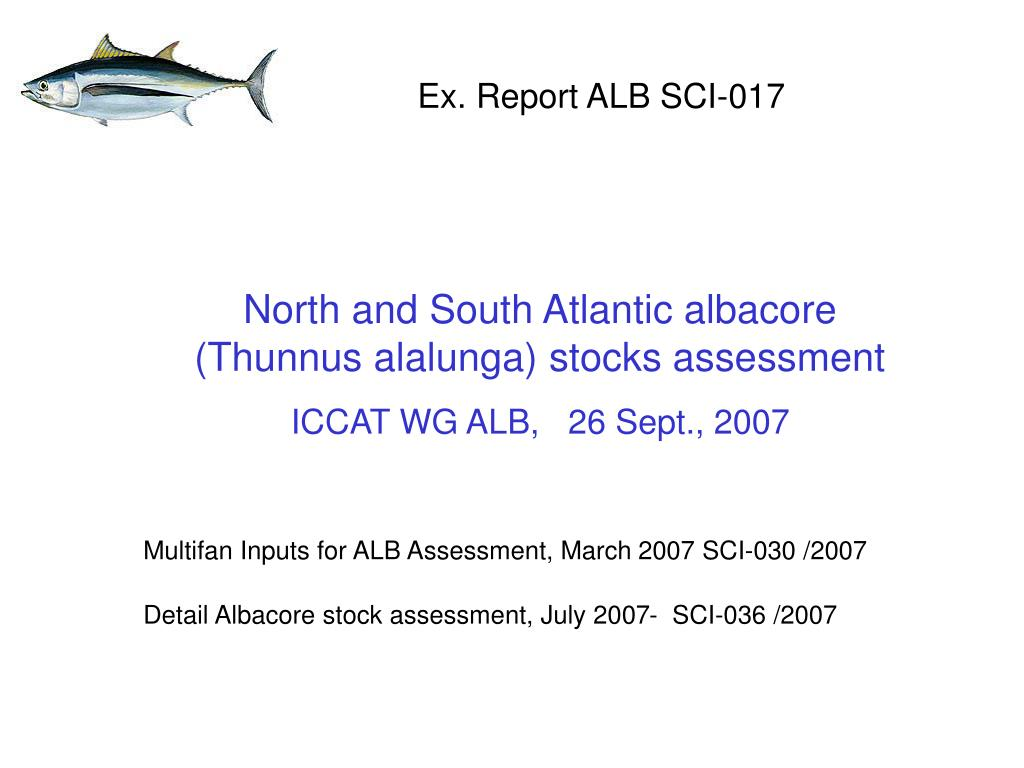 Ex. Report ALB SCI-017
