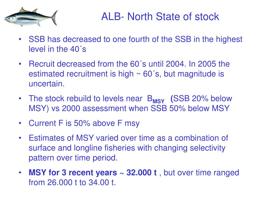 ALB- North State of stock