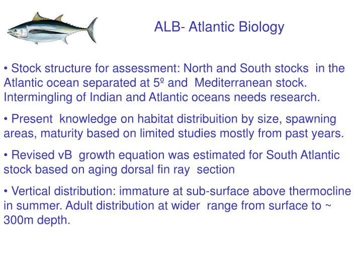 ALB- Atlantic Biology