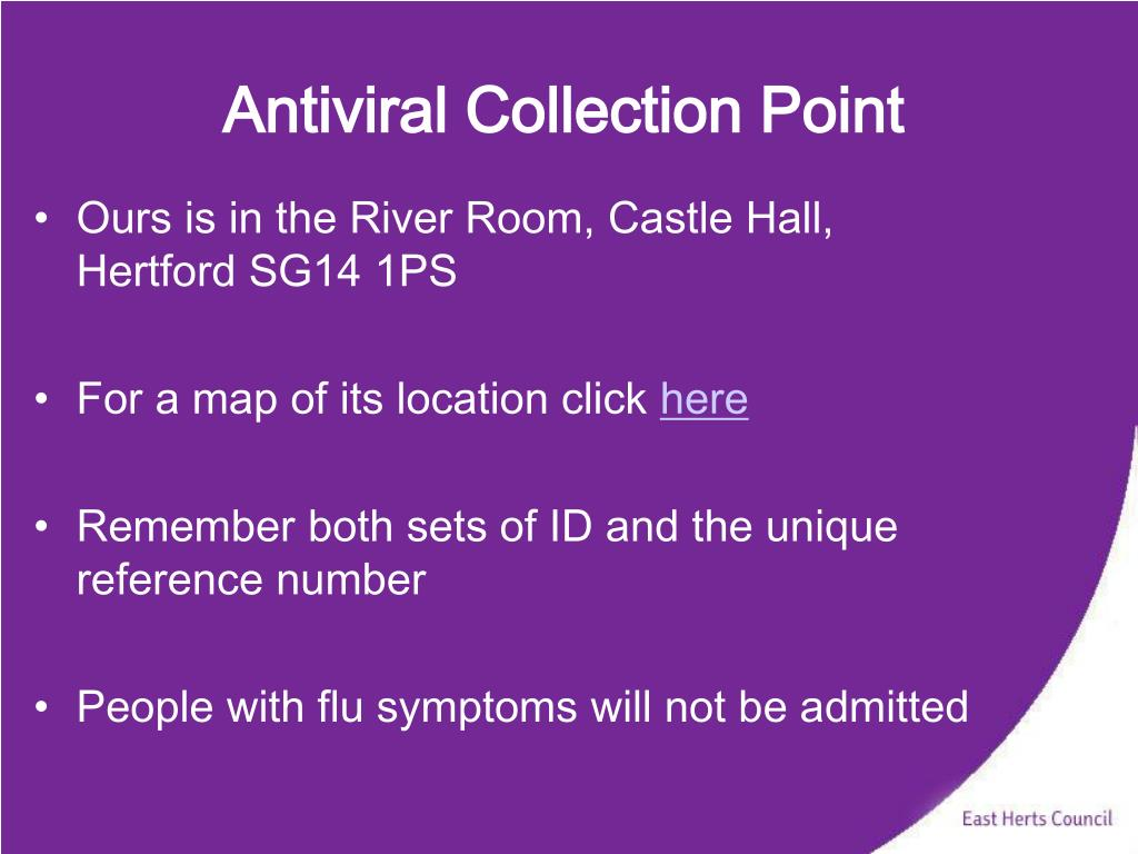 Antiviral Collection Point