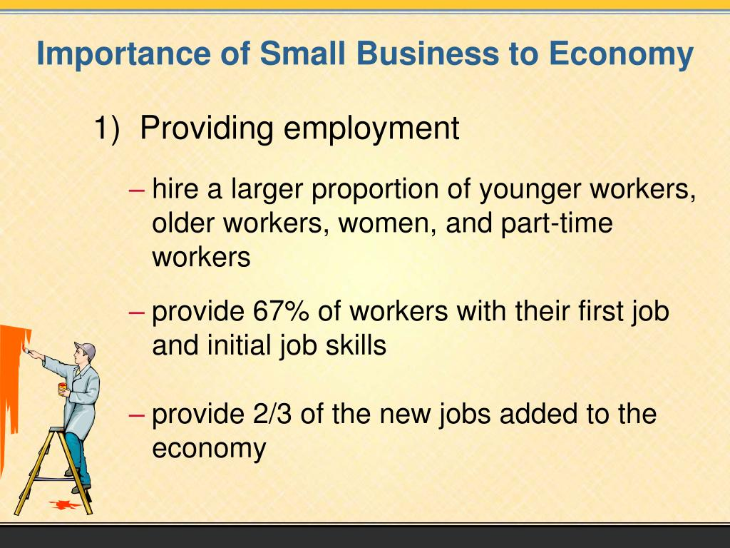 Importance of Small Business to Economy