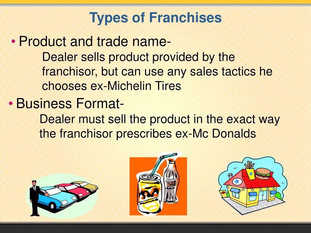 Types of Franchises