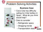 problem solving activities