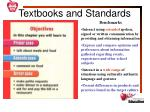 textbooks and standards1