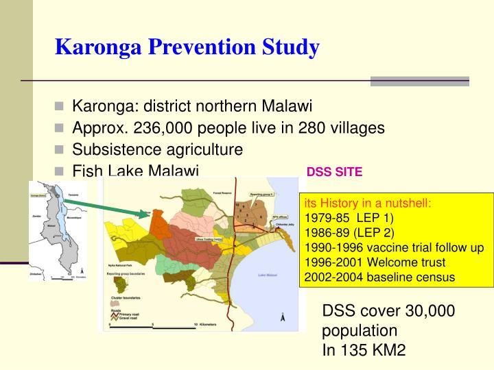 Karonga Prevention Study
