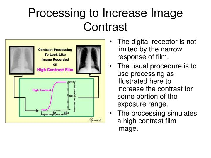 Processing to Increase Image Contrast