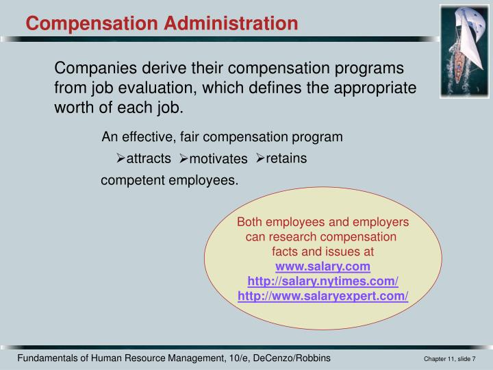An effective, fair compensation program