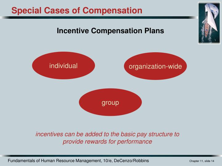 Incentive Compensation Plans