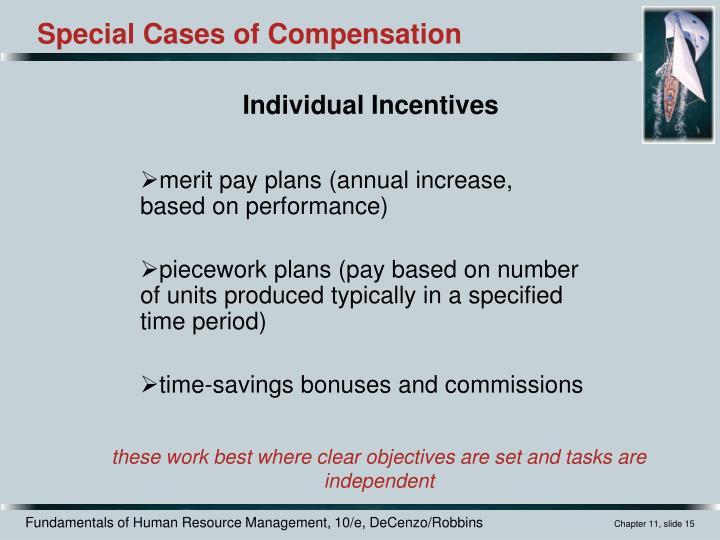 merit pay plans