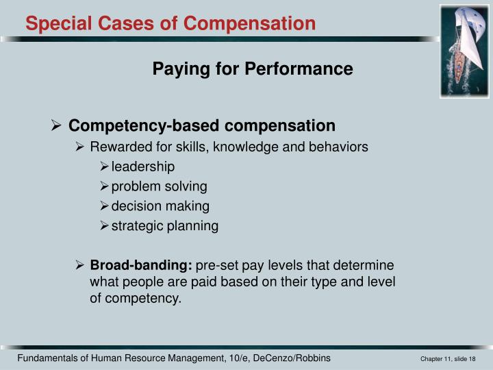 Competency-based compensation