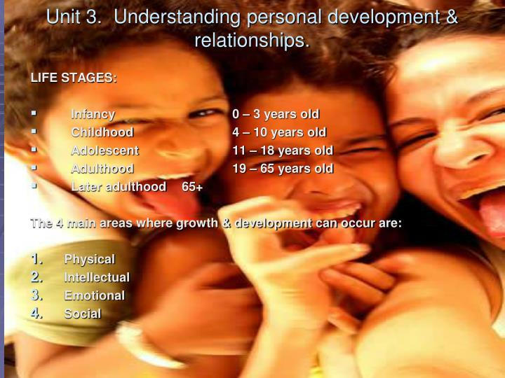 Developmental stages young adults