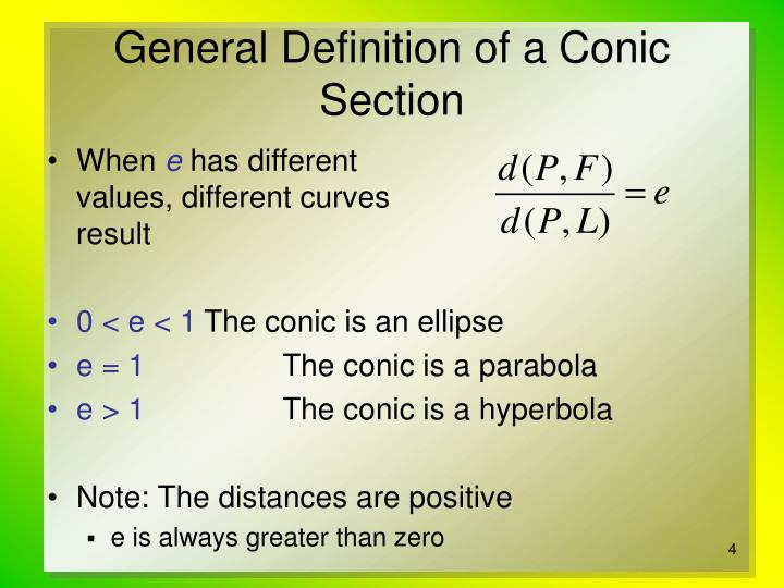 PPT - Conic Sections in Polar Coordinates PowerPoint ...