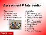 assessment intervention