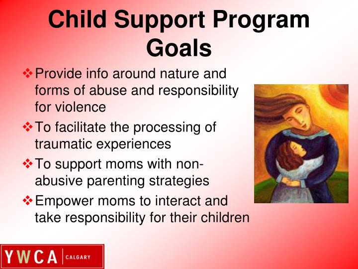 Child Support Program Goals
