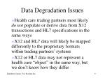 data degradation issues