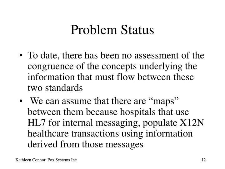 Problem Status