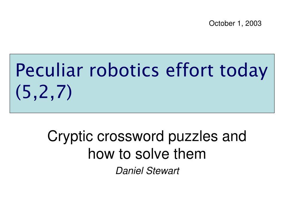 October 1, 2003