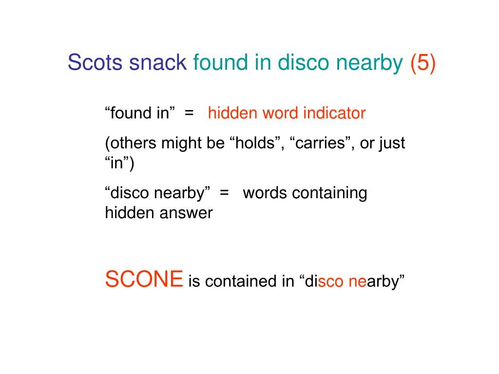 Scots snack