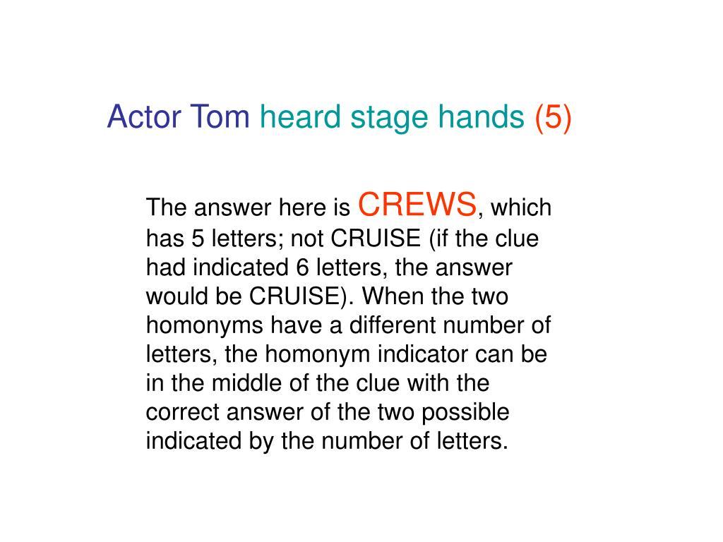 Actor Tom