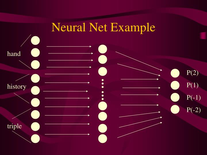 Neural Net Example