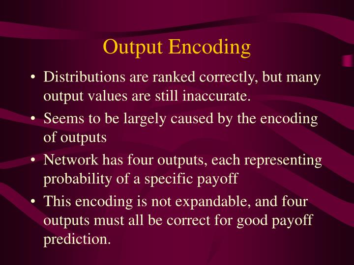 Output Encoding