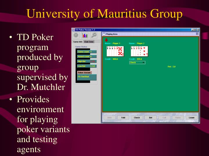 University of Mauritius Group