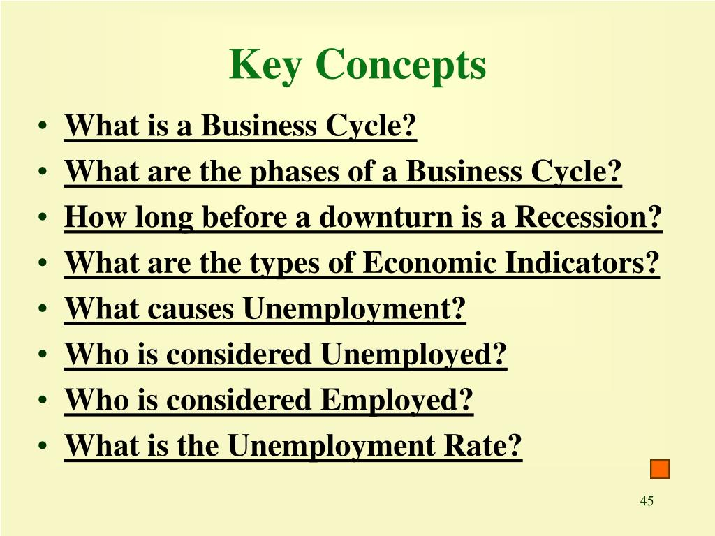 Key Concepts