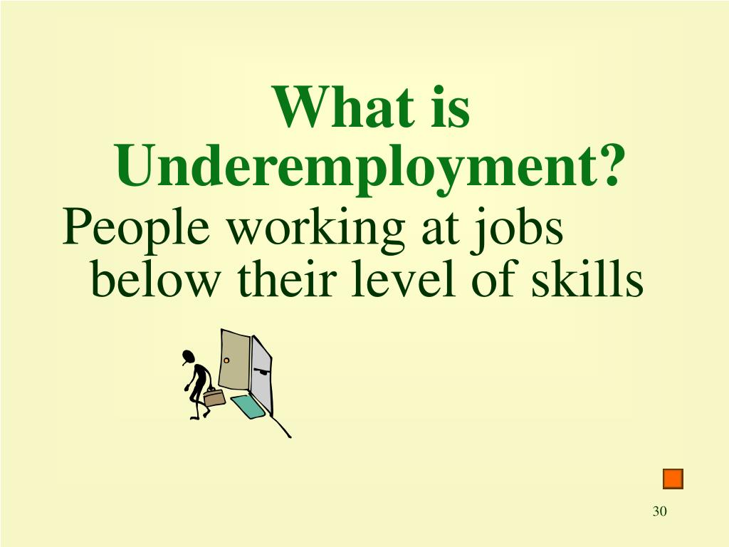 What is Underemployment?