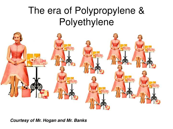 The era of Polypropylene & Polyethylene