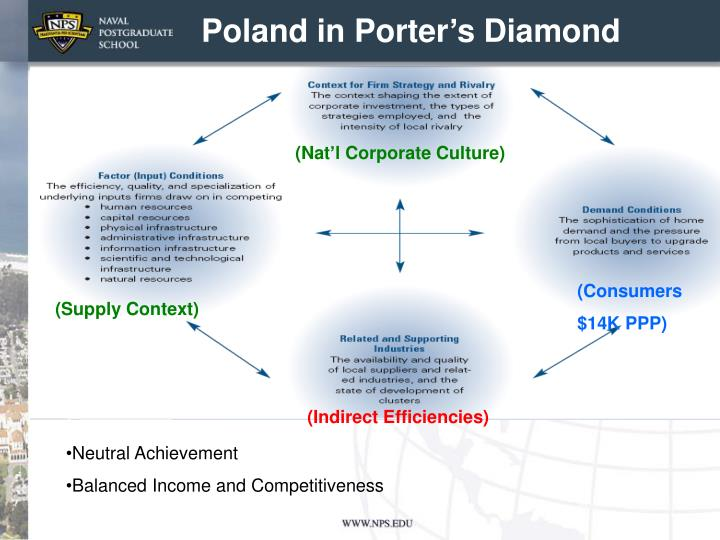 Poland in Porter's Diamond