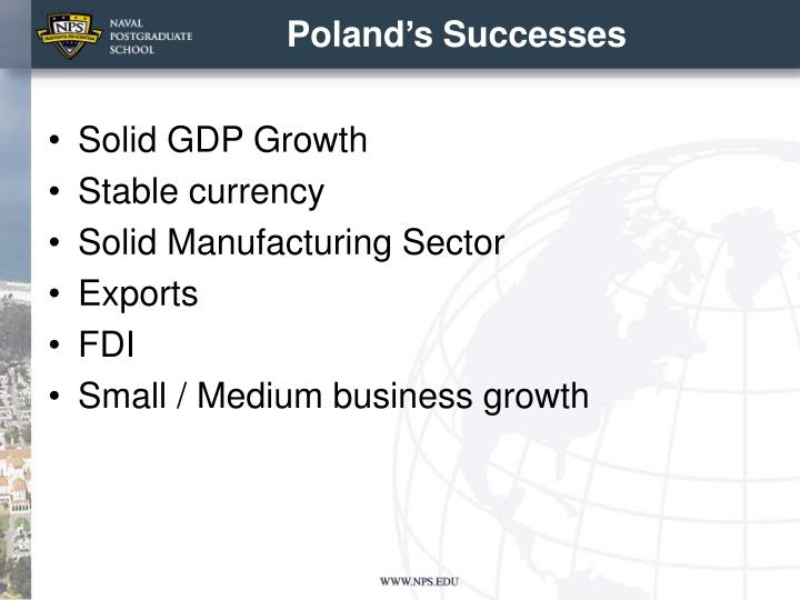 Poland's Successes